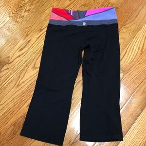 Reversible Groove crop pants size 6